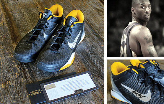 IfOnly, Kobe Bryant's Game-Worn & Hand-Signed Shoes