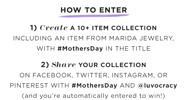 Mother's Day Contest How To Enter